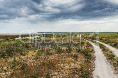 The steppe road to the sea
