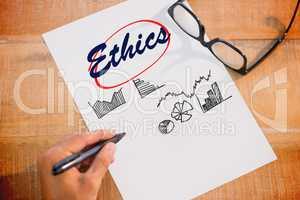 Ethics against business graphs