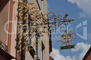 Wirtshausschild in Nürnberg