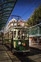 Touristic and historic tramway, Geneva, Switzerland