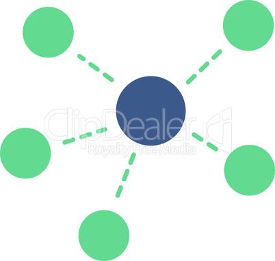 connections--BiColor Cobalt-Cyan.eps
