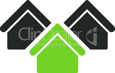 real estate--Bicolor Eco_Green-Gray.eps
