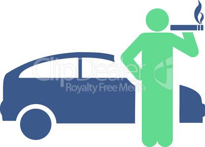 taxi driver--BiColor Cobalt-Cyan.eps