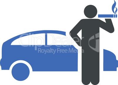 taxi driver--BiColor Cobalt-Gray.eps