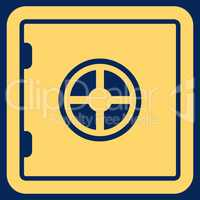 Safe icon from Business Bicolor Set
