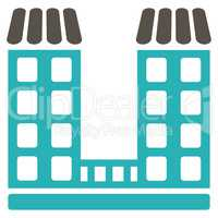 Company icon from Business Bicolor Set