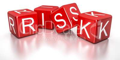 red risk dice