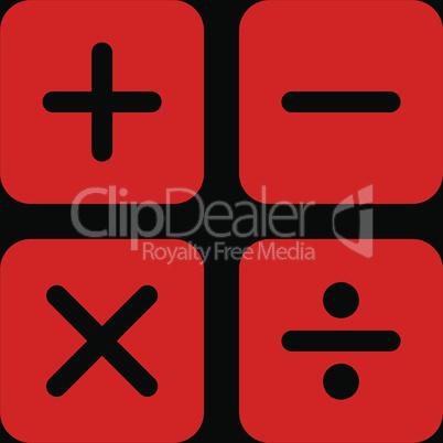 bg-Black Red--calculator.eps