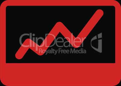 bg-Black Red--stock market.eps