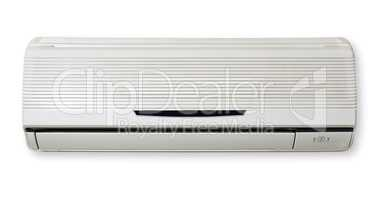 Air Condition isolated in white background. Air conditioning.