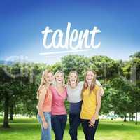 Talent against park