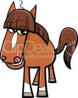 horse farm animal cartoon