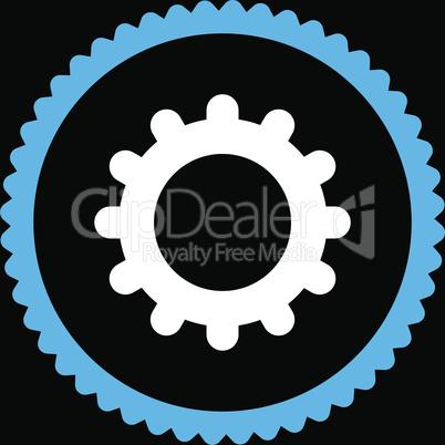 bg-Black Bicolor Blue-White--gear.eps
