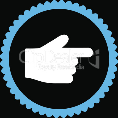 bg-Black Bicolor Blue-White--index finger.eps