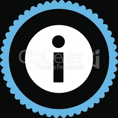 bg-Black Bicolor Blue-White--information.eps