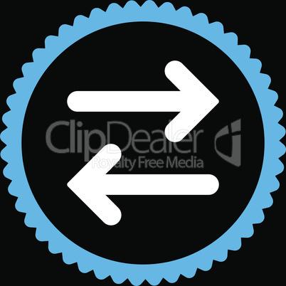 bg-Black Bicolor Blue-White--flip horizontal.eps