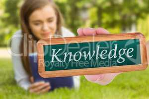 Knowledge against university student lying and using tablet pc