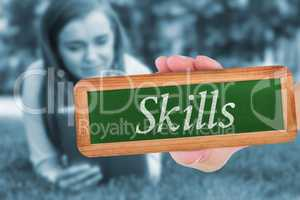 Skills against university student lying and using tablet pc