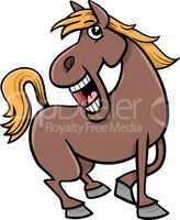 horse animal cartoon
