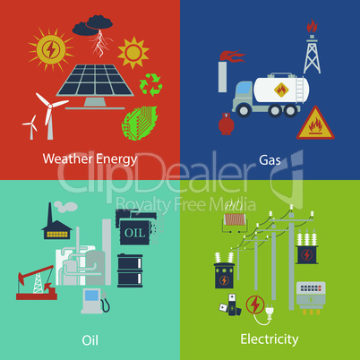 Energy and Industrial designs