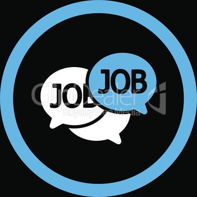 bg-Black Bicolor Blue-White--labor market.eps