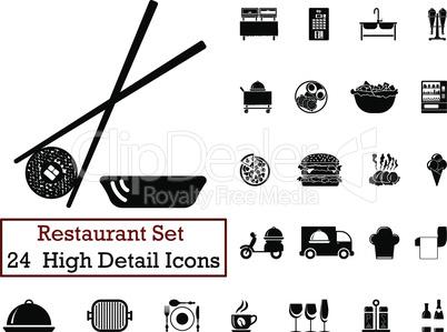24 Restaurant icons