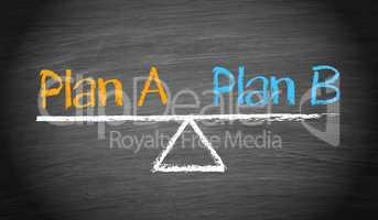 Plan A and Plan B - Balance Concept