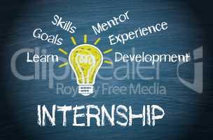 Internship - Business Concept