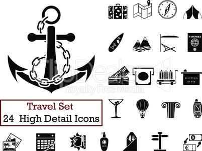 24 Travel Icons
