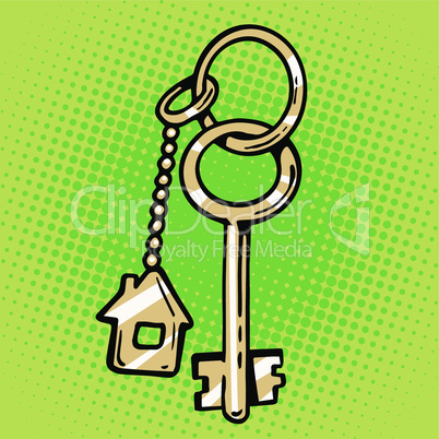 keychain house keys