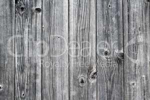 Weathered wood siding