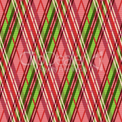 Bright rhombic seamless pattern in red hues