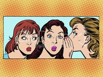 Gossip woman girlfriend