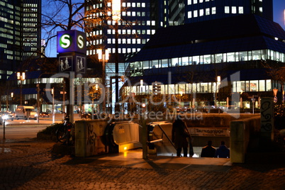 Abend in Frankfurt