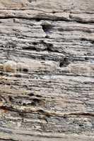 Felsen an einer Küste