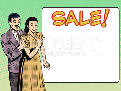 family husband wife announce sale