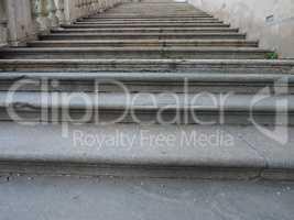 Stairway steps