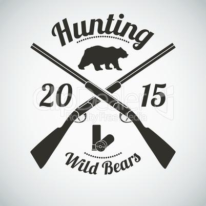 Hunting Emblem