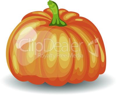 Glossy Orange Pumpkin