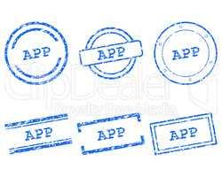 App Stempel
