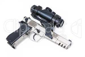 Gun With Optics