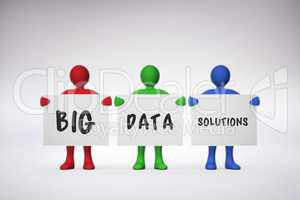 Composite image of big data solutions
