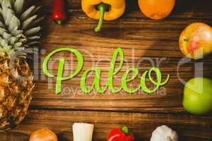 Composite image of paleo