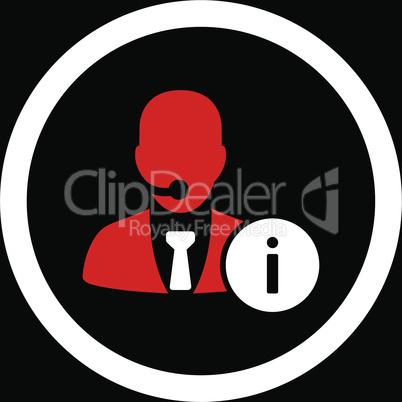 bg-Black Bicolor Red-White--help desk.eps