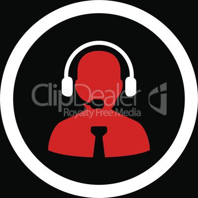 bg-Black Bicolor Red-White--support chat.eps