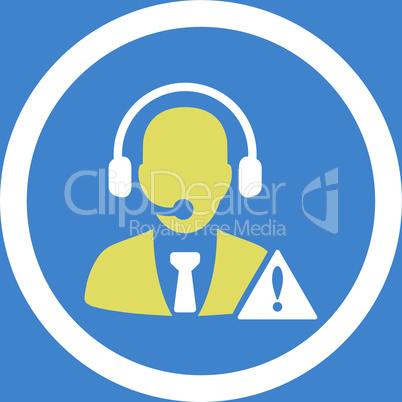 bg-Blue Bicolor Yellow-White--emergency service.eps