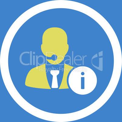 bg-Blue Bicolor Yellow-White--help desk.eps