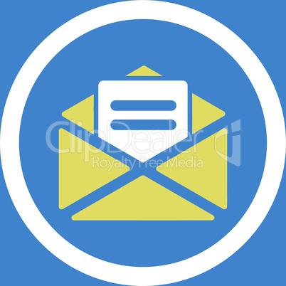 bg-Blue Bicolor Yellow-White--open mail.eps
