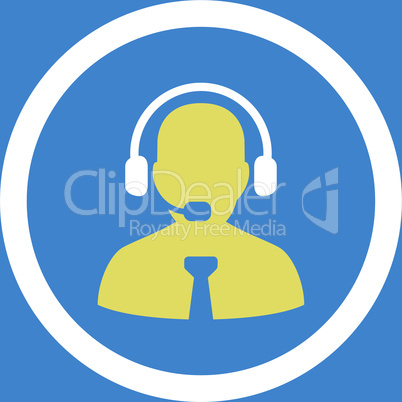 bg-Blue Bicolor Yellow-White--support chat.eps