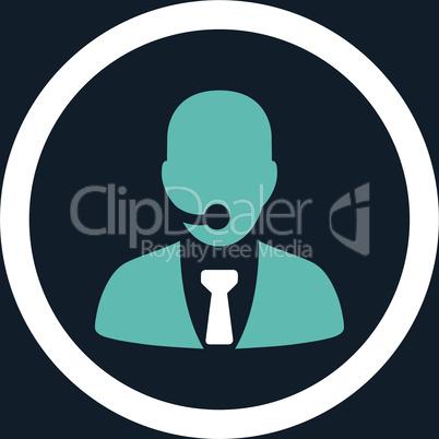 bg-Dark_Blue Bicolor Blue-White--call center operator.eps